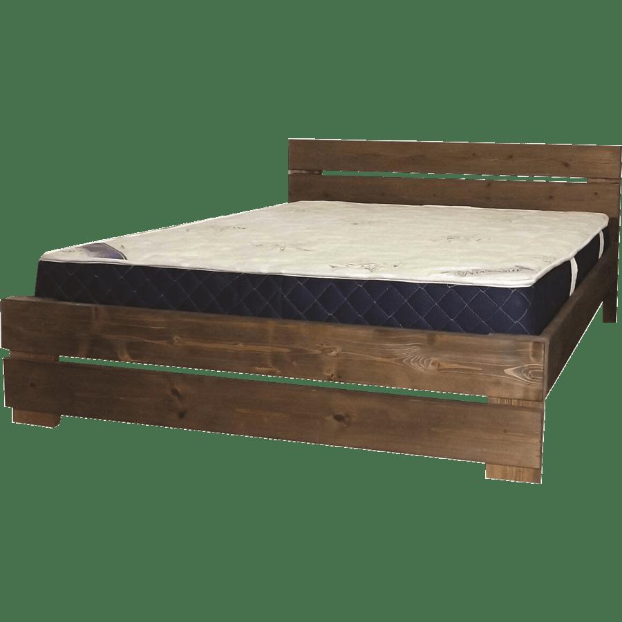 מיטה כפרית+מזרן קפיצים