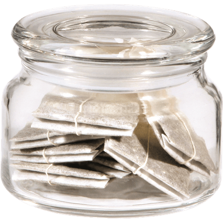 צנצנת עגולה זכוכית
