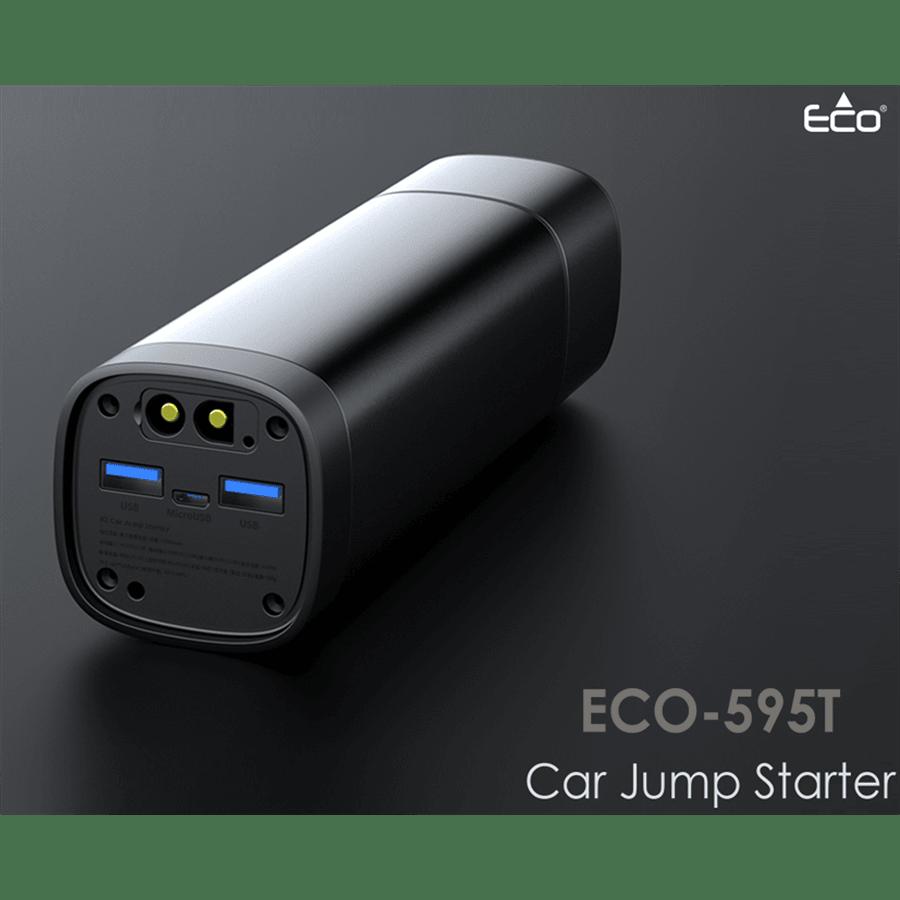 בוסטר התנעה לרכב+פנס Eco