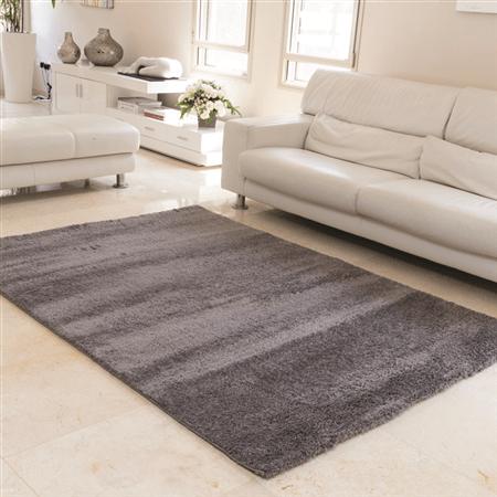 שטיח מיקרו שאגי אפור כהה