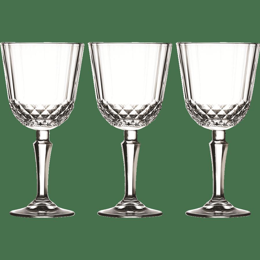 סט 3 גביעי יין DIONY