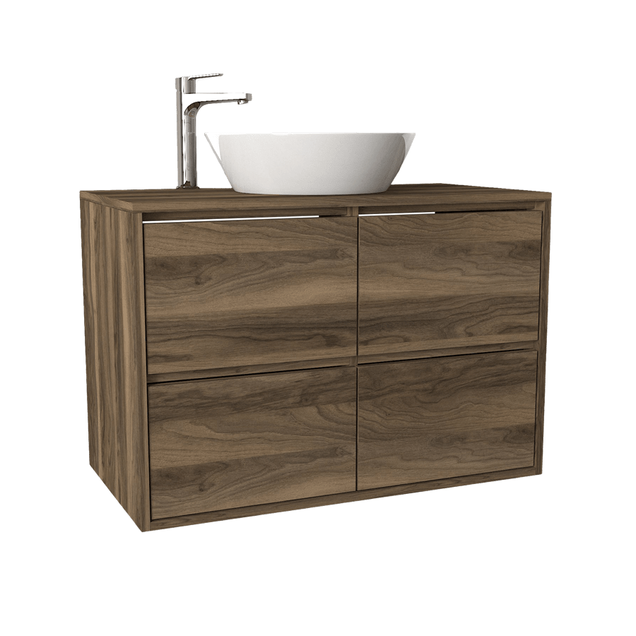 ארון אמבטיה צף דגם פאולה