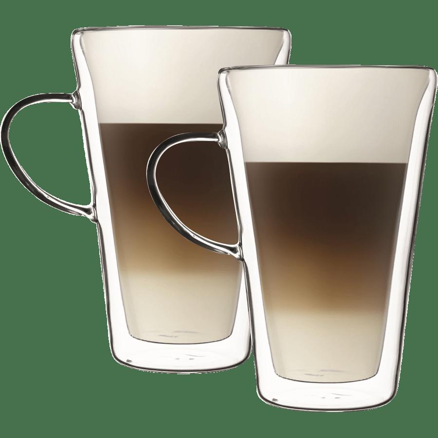 סט כוס זכוכית דופן כפולה