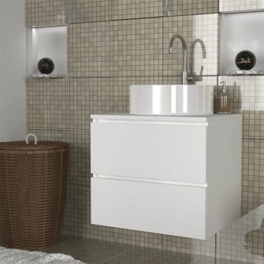 ארון אמבטיה צף דגם כרמית