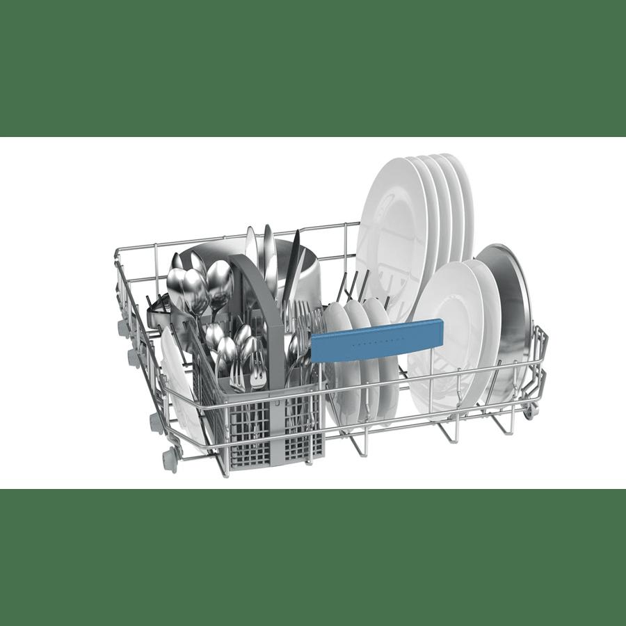 מדיח כלים לבן רחב עם צג