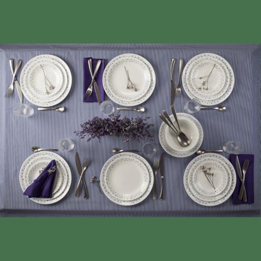 סט ל18סועדים Lilac BLUSH