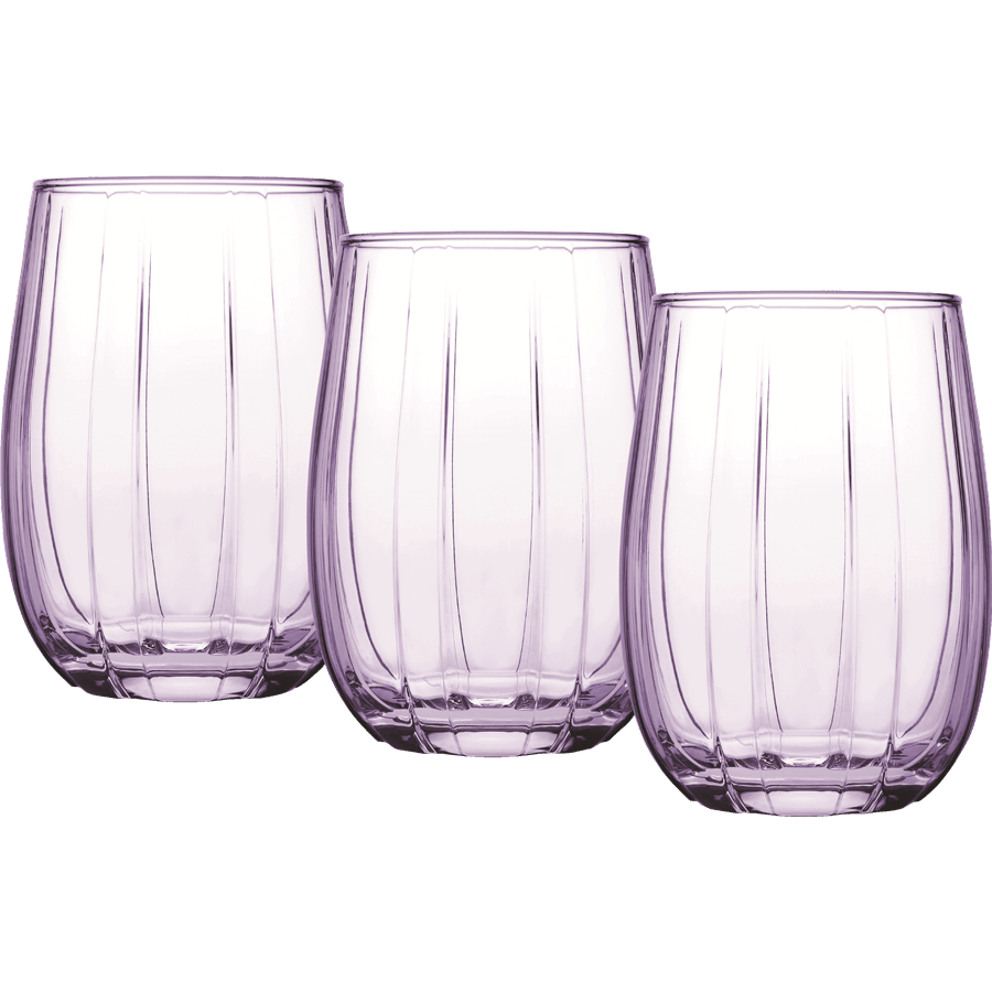 סט כוסות שתייה PURPLE