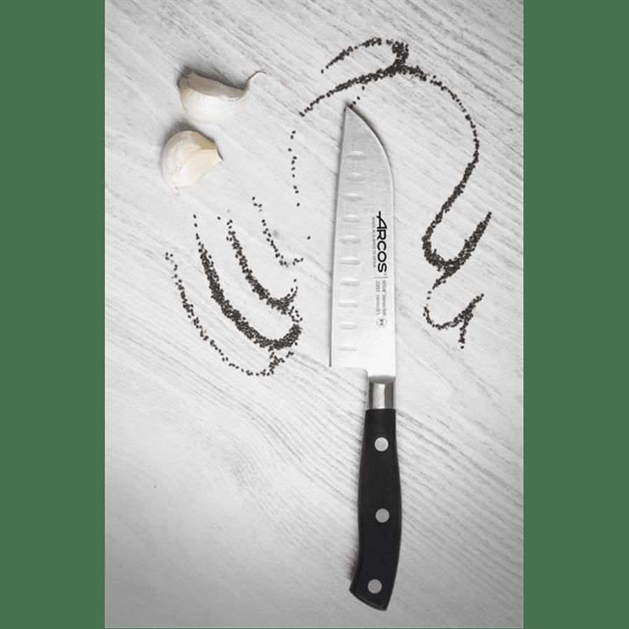 סכין שף מקצועית שקעים