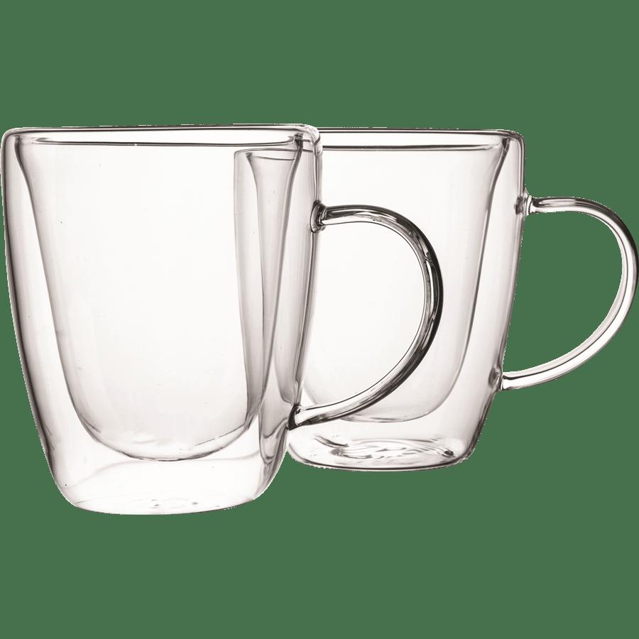 כוסות זכוכית דופן כפולה
