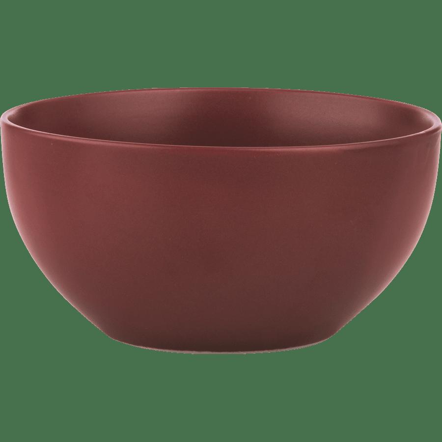 סט 6 צלחות פורצלן צבעוני