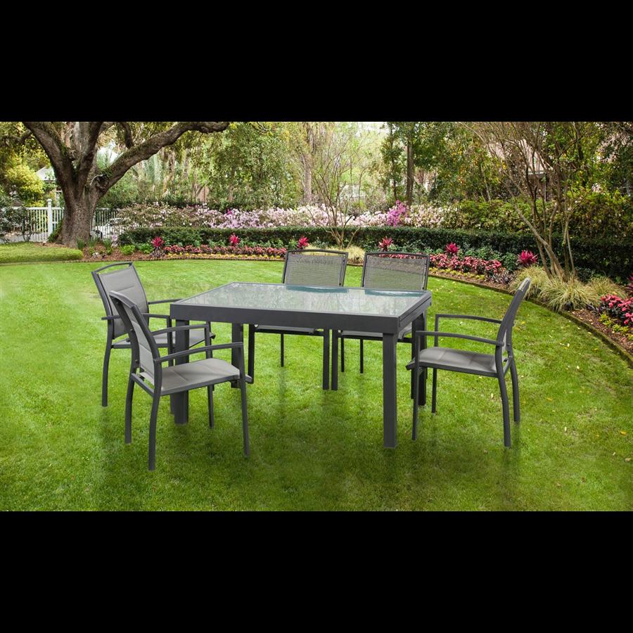שולחן אלומיניום  לגינה