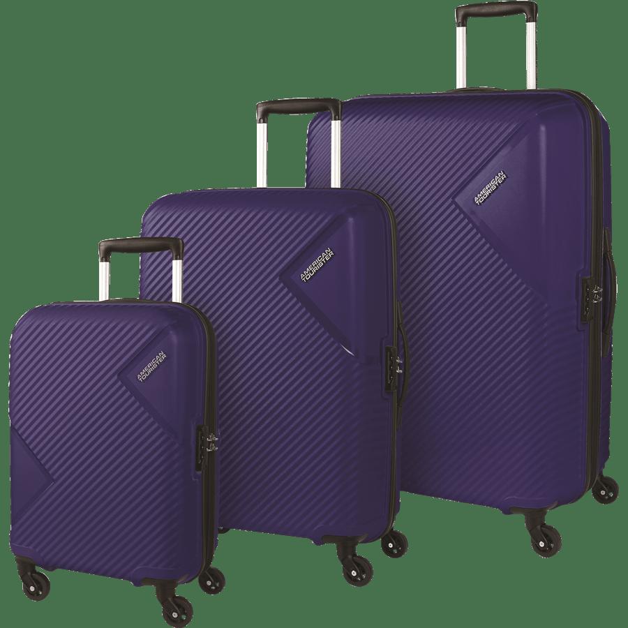 סט 3 מזוודות נייבי
