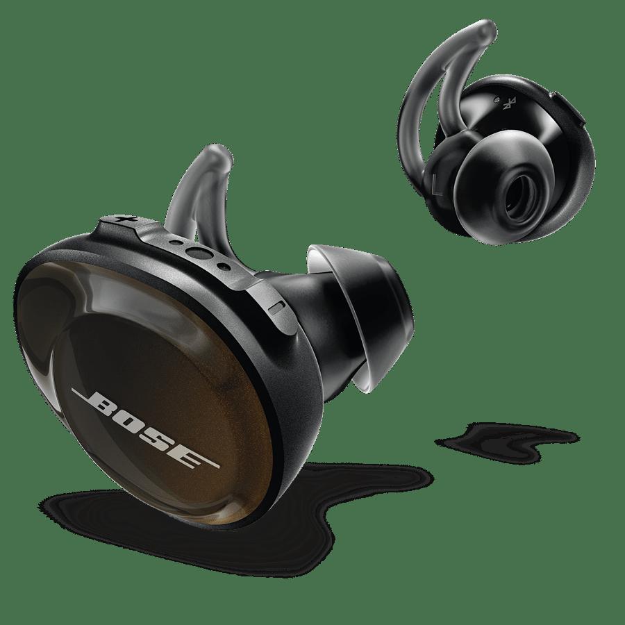 אוזניות ספורט  שחור