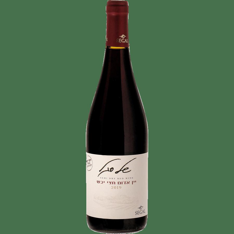 יין אדום חצי יבש של סגל