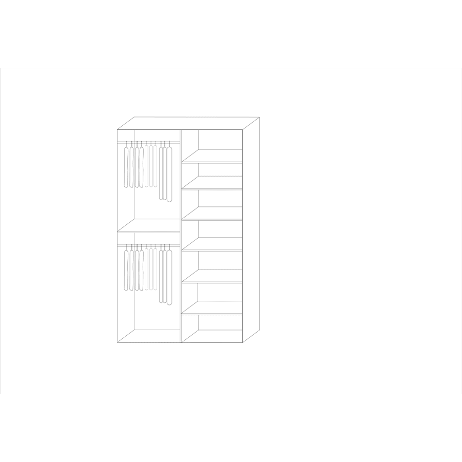 ארון אדרת + פסי קישוט