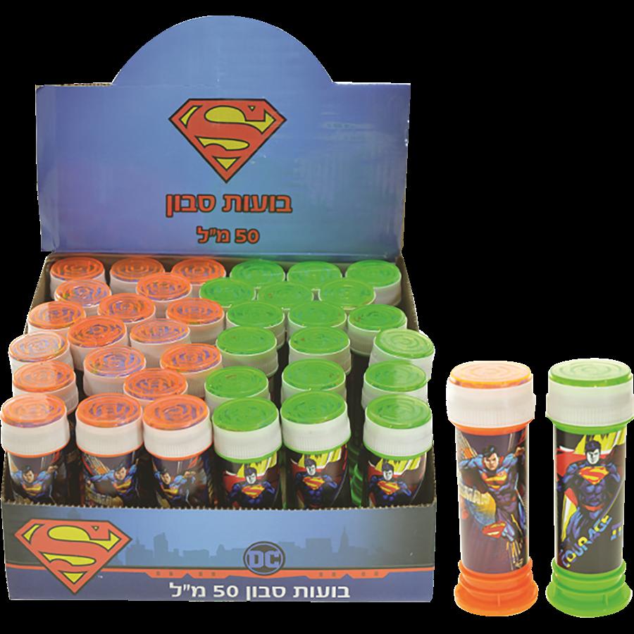 בקבוק בועות סבון סופרמן