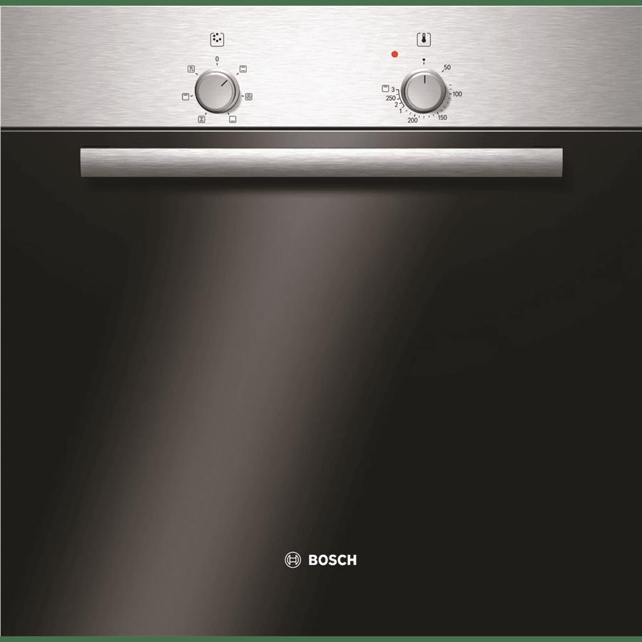 תנור בנוי כסוף בוש