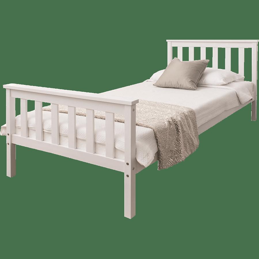 מיטה וחצי מעץ מלא