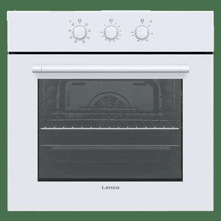 תנור אפיה בנוי לבן