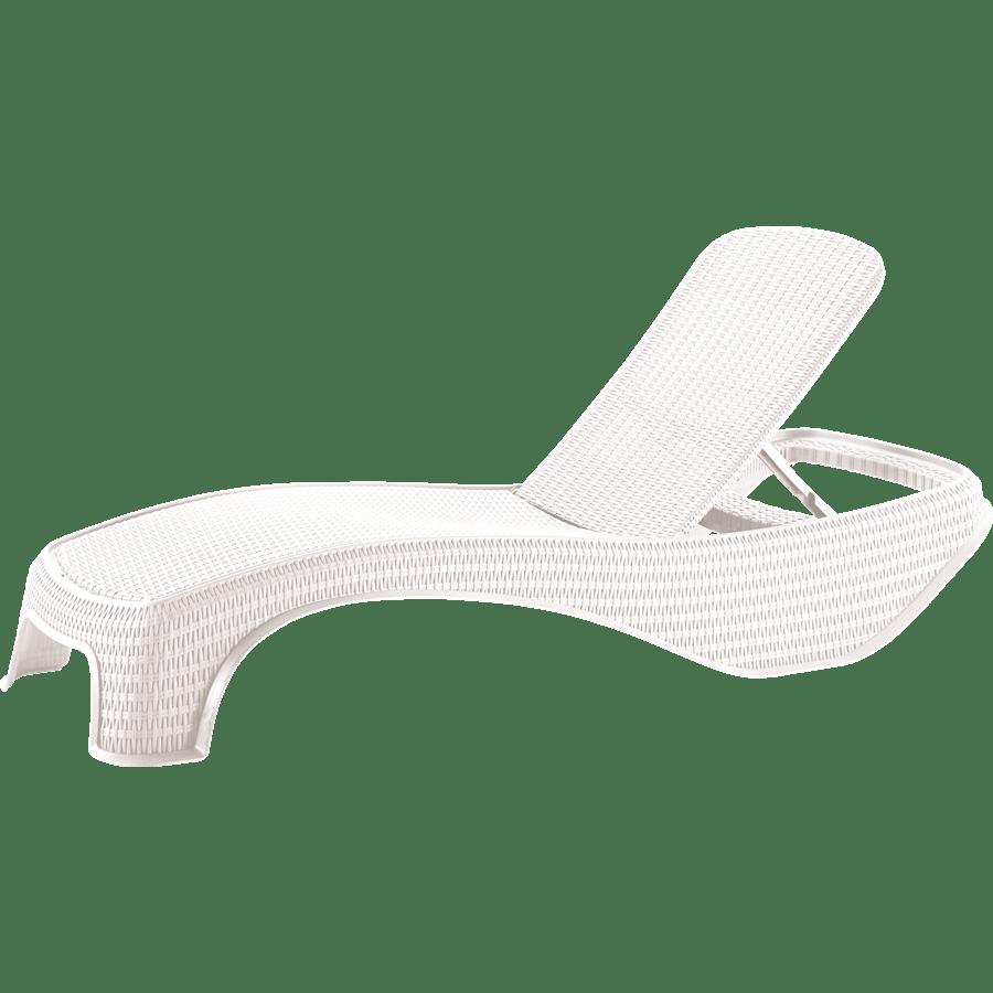 מיטת שיזוף אטלנטיק לבן
