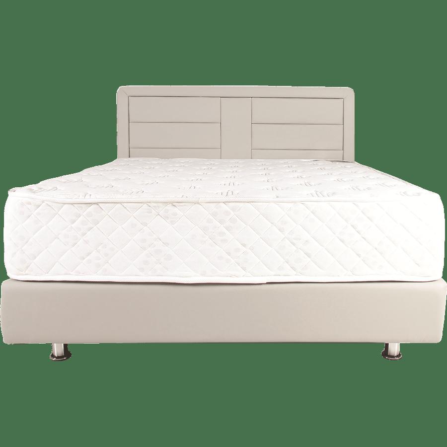 מיטה מרופדת דמוי עור