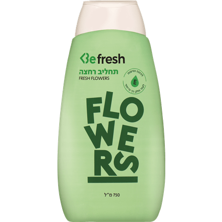 BE תחליב רחצה flowers
