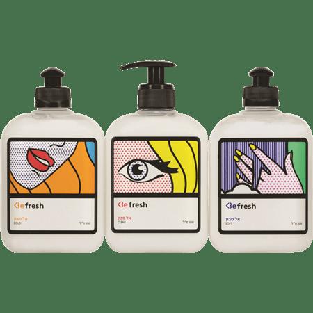 Be אל סבון לידיים פופארט