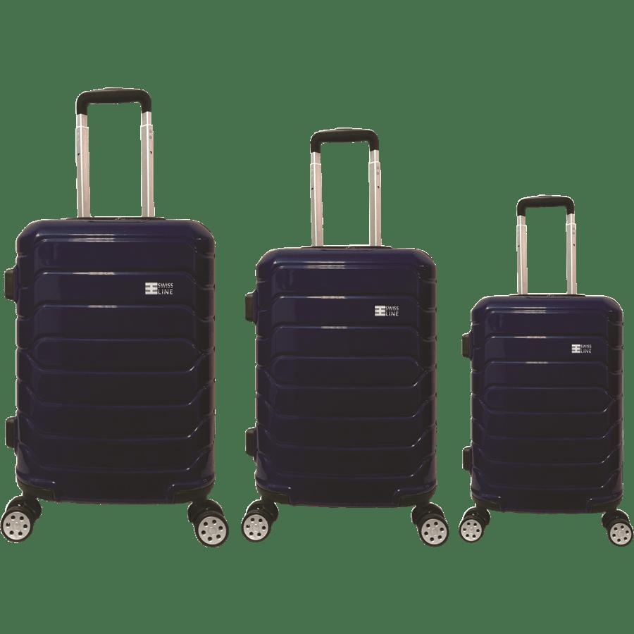 סט3 מזוודות PC נייבי