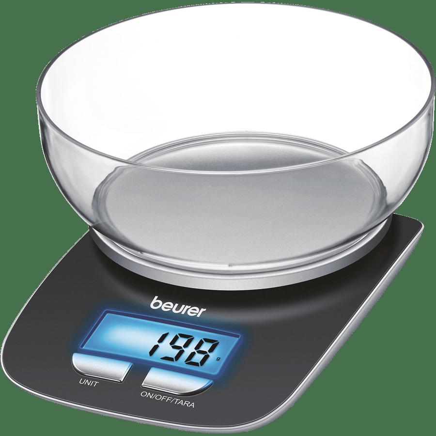 משקל מטבח עם קערה