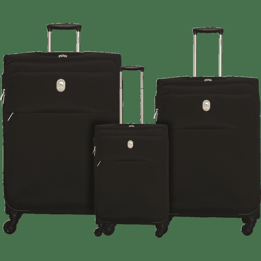 שלישית  מזוודות בד שחור