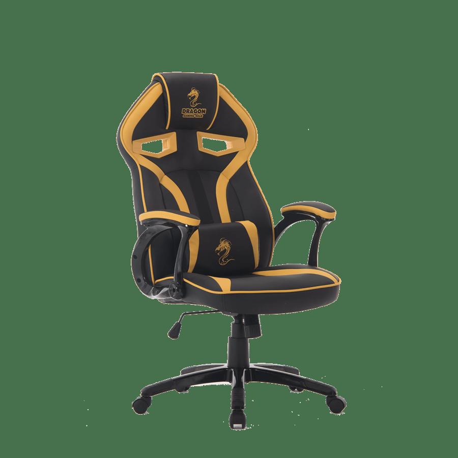 כסא גיימינג שחור צהוב