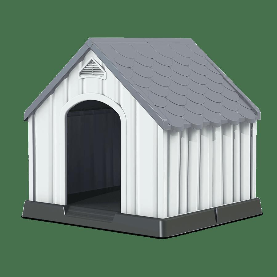 מלונה - גג אפור