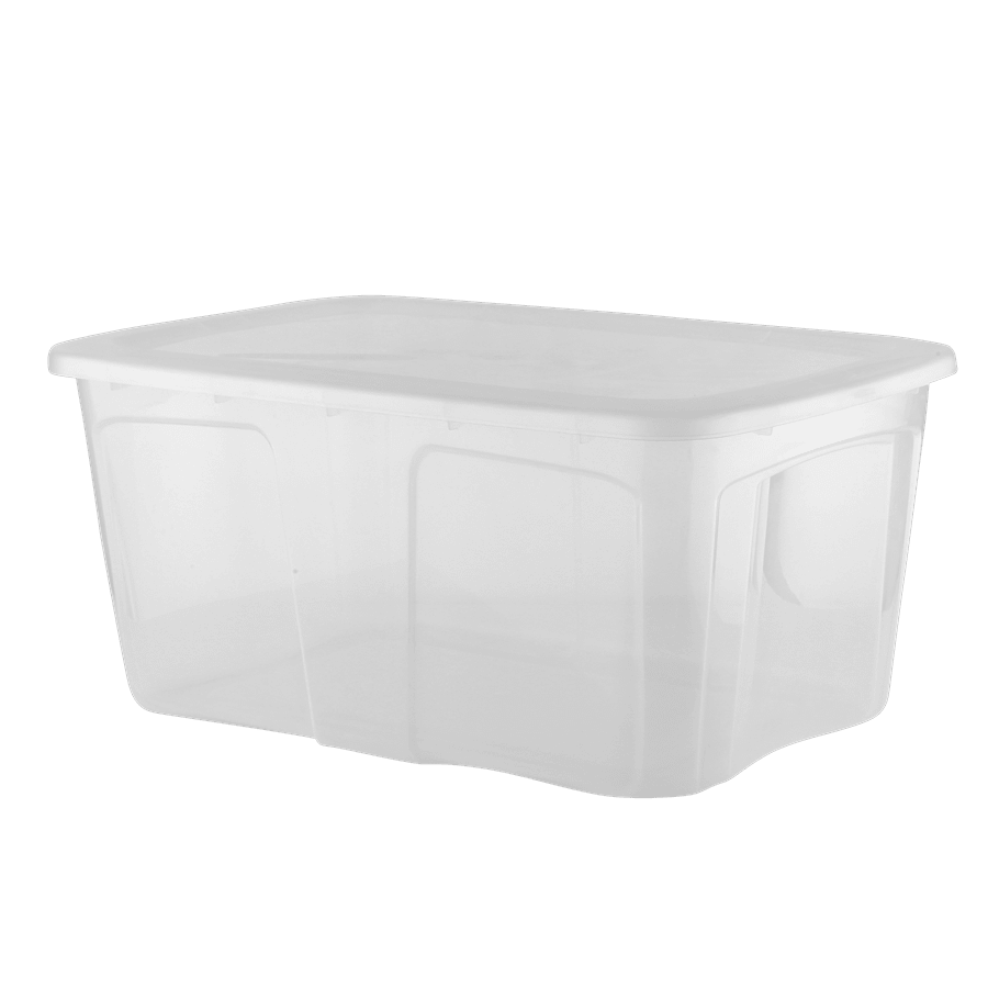 ארגז אחסון 52 ליטר+מכסה
