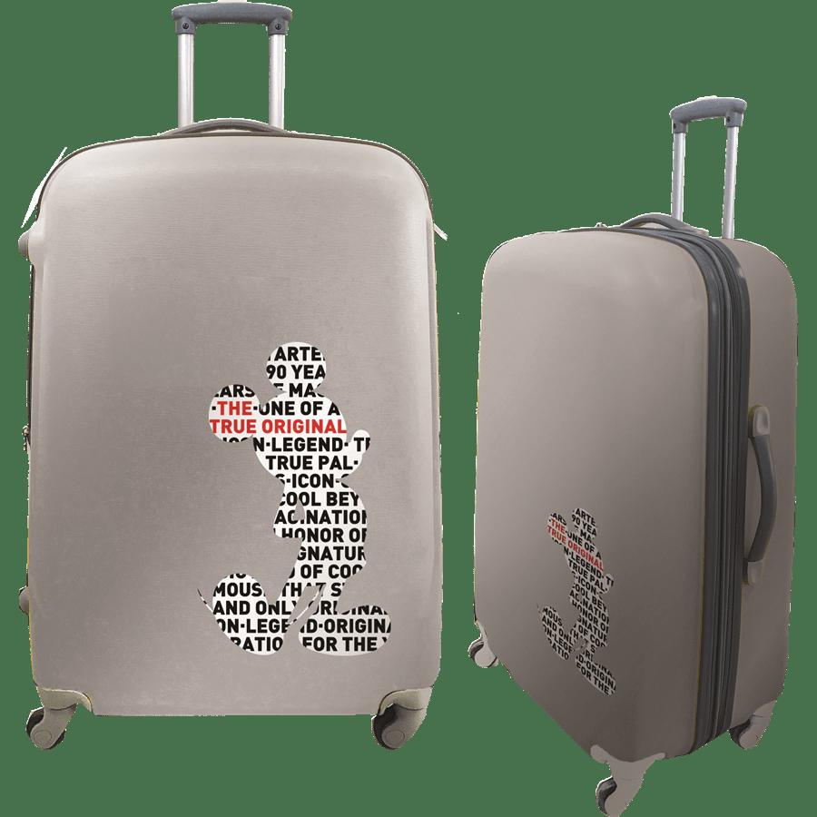 זוג מזוודות קשיחות PC