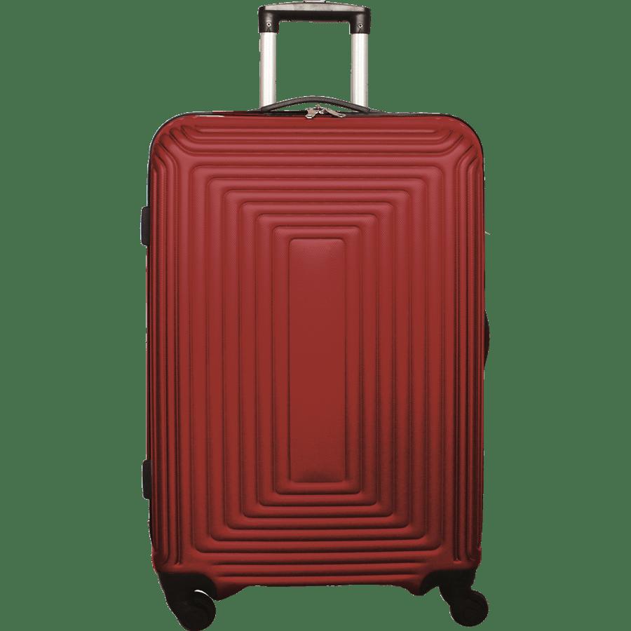 """מזוודה קשיחה """"20 אדום"""