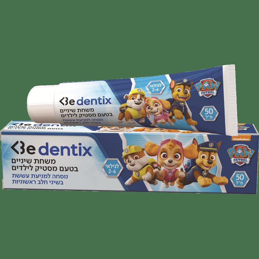 משחת שיניים לילדים 2-6