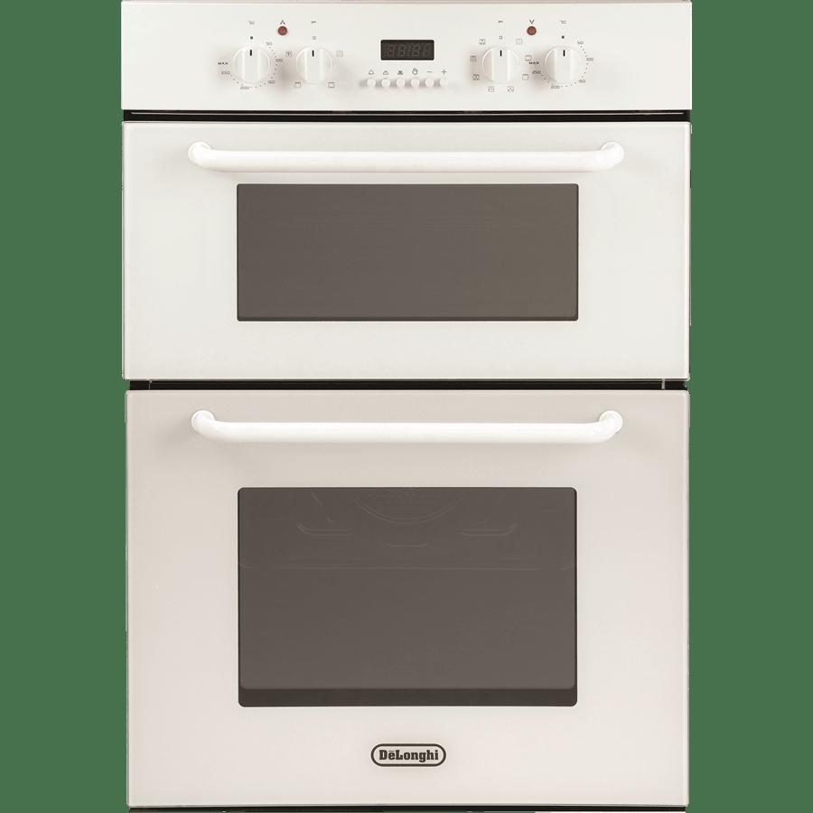 תנור בנוי דו תאי לבן