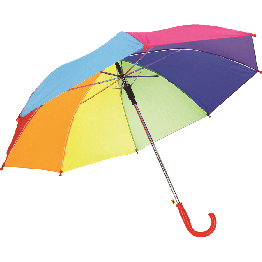 מטריה צבעונית