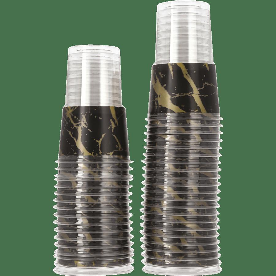 כוס גרניט זהב שחור