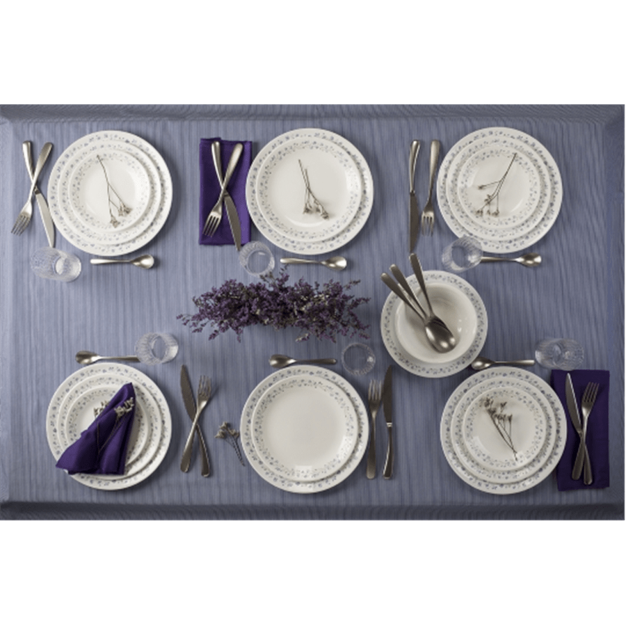 סט צלחות  lilac blushch