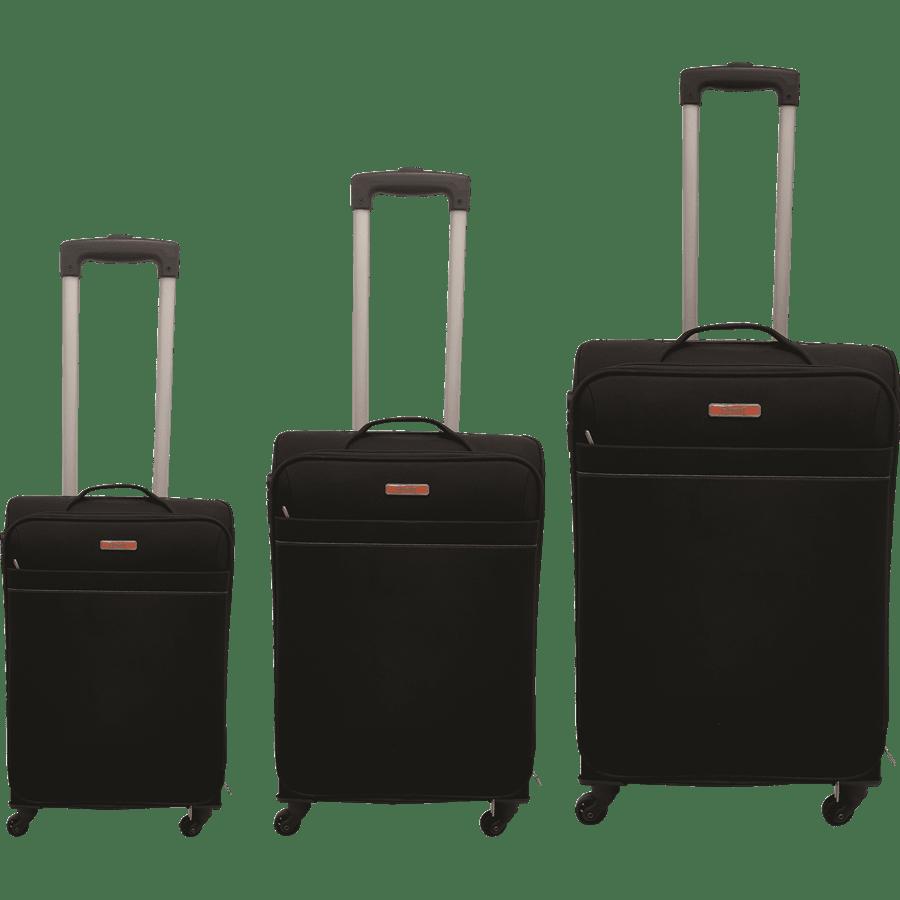 שלישית מזוודות בד