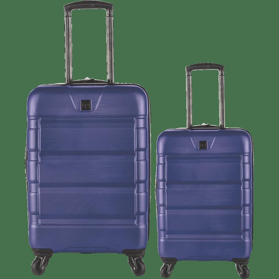 זוג מזוודות קשיחות