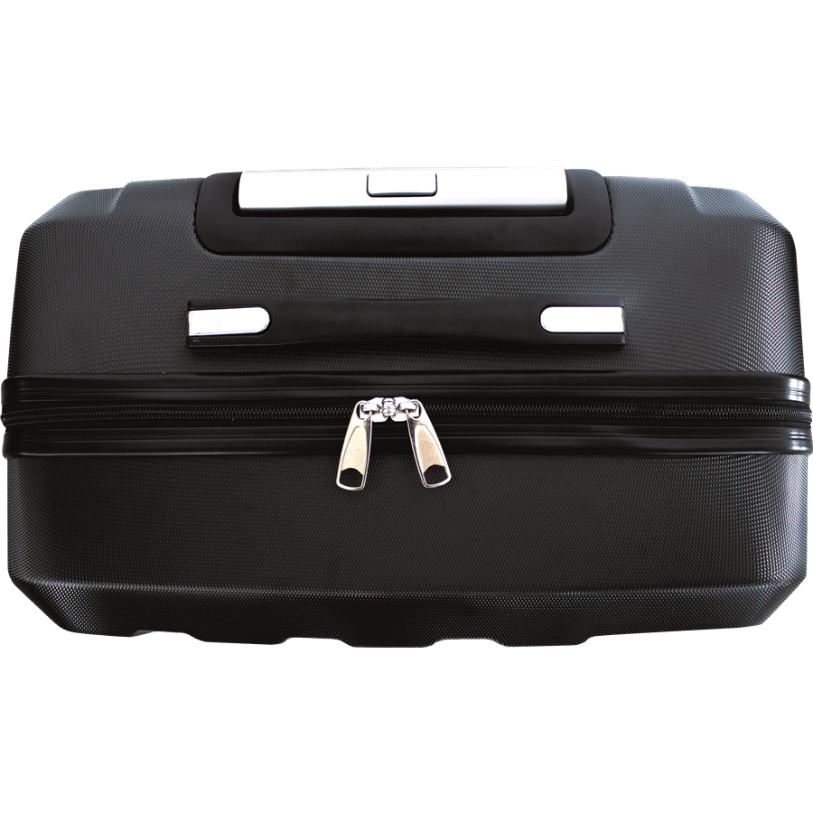 שלישית מזוודות ABS שחור