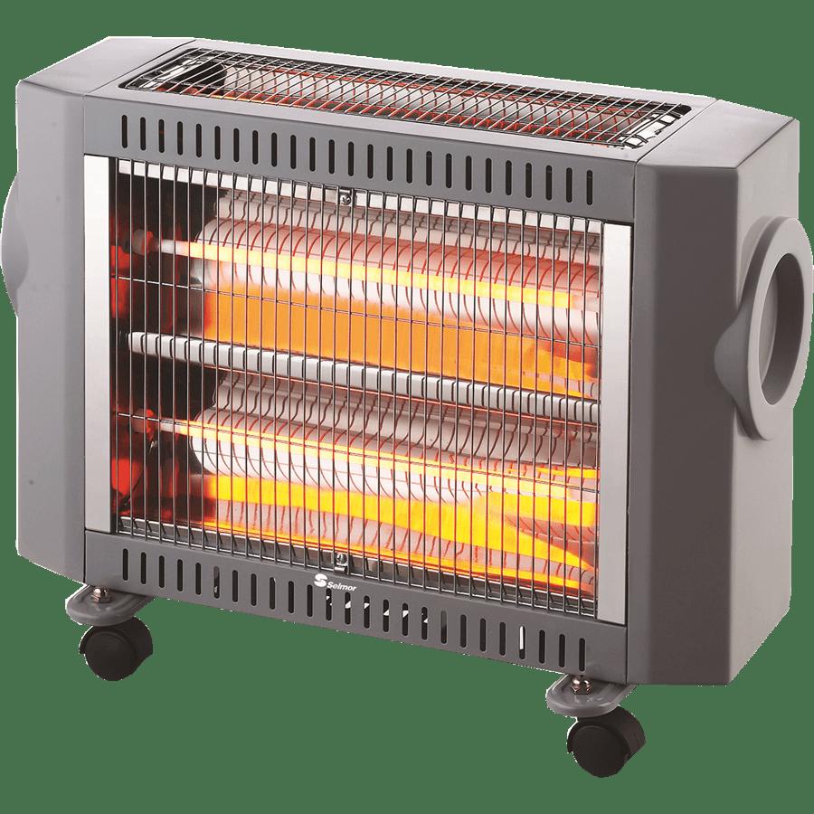 תנור קוורץ  4גופי תאורה