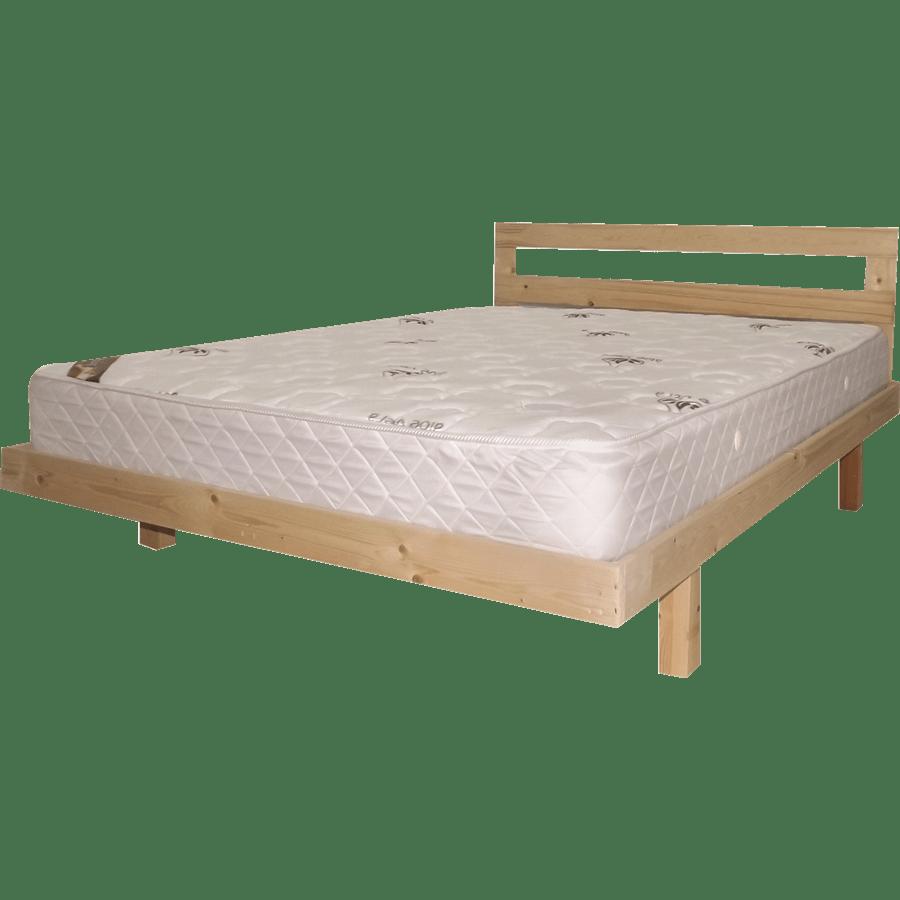 מיטה עץ אורן מלא + מזרן