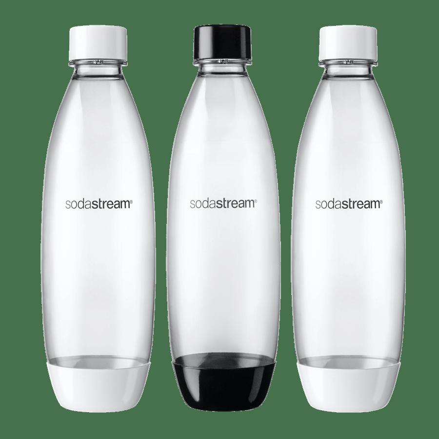 שלישיית בקבוקים שחור-לבן