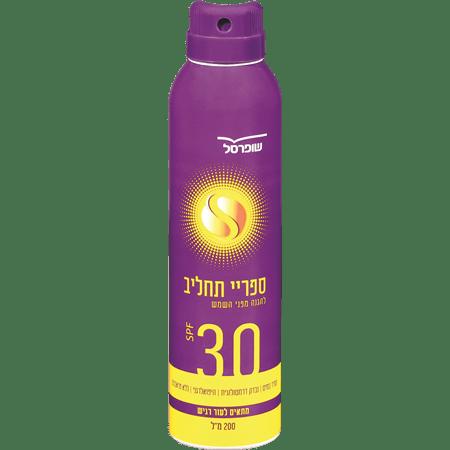 תרסיס קרם SPF30