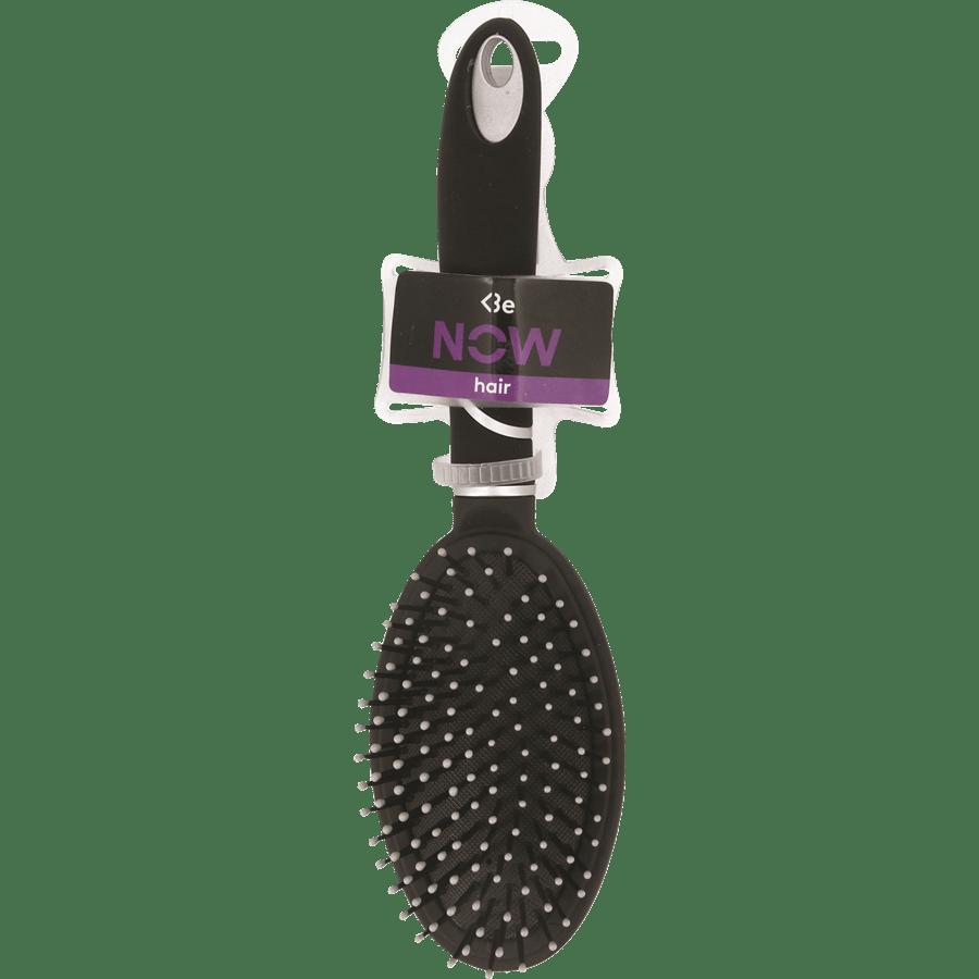 מברשת שיער אובלית שחורה