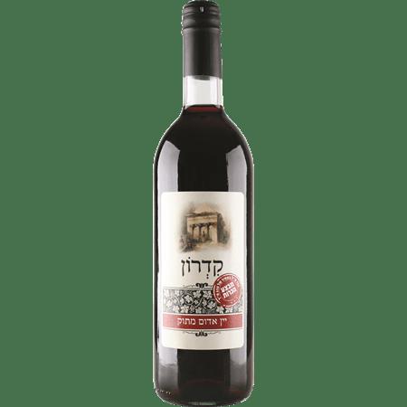 יין אדום מתוק קדרון