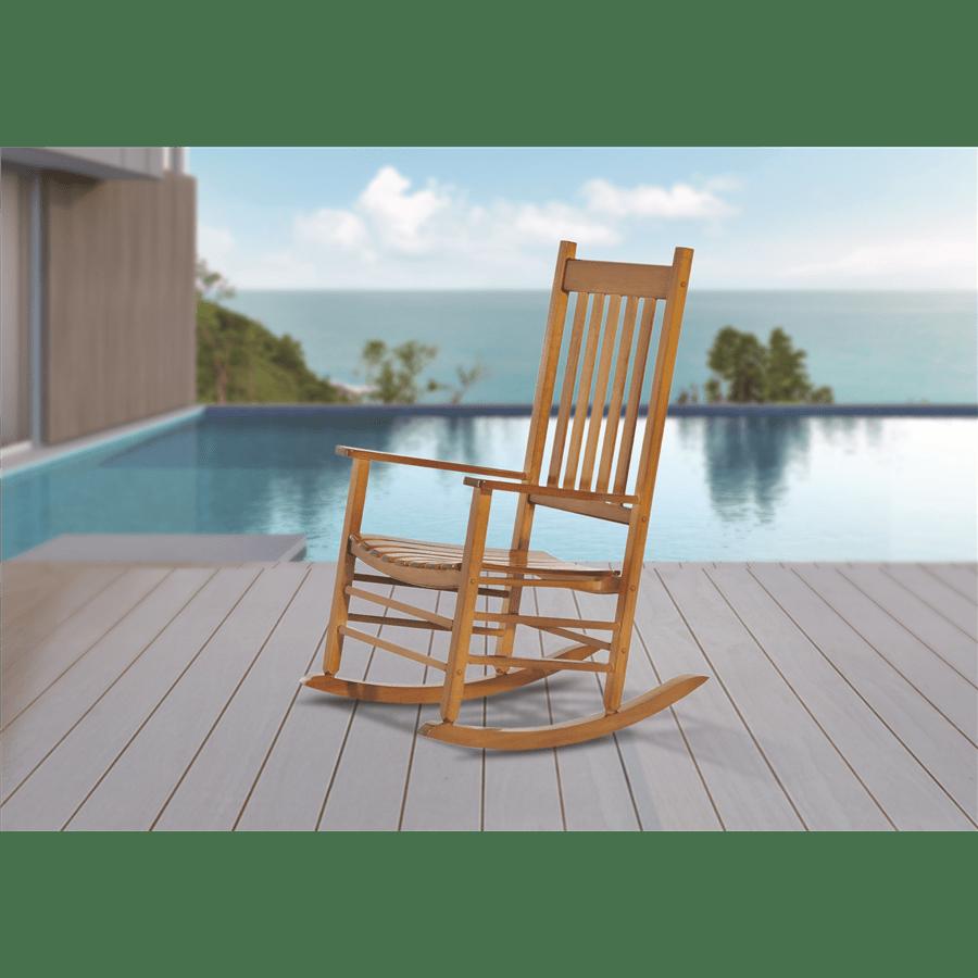 כסא נדנדה  עץ טבעי /natu
